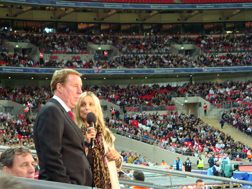 Harry Redknapp former Tottenham manager #AskHarry [Photo: curiouslypersistent http://www.flickr.com/photos/29714836@N08/]