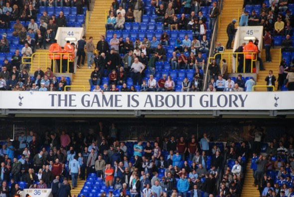 For Tottenham the game is about Glory [Photo: Jav The_DoC_66]