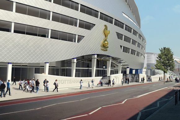 Spurs are to redesign their new stadium [photo: Logan Holmes]
