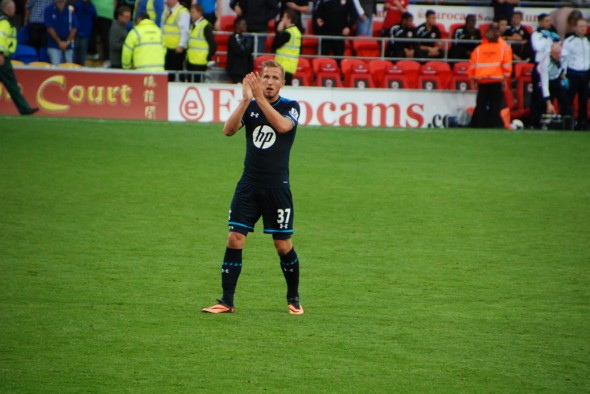 Harry Kane - scored a hat-trick for England U-21 [Photo: Jav The_DoC_66]