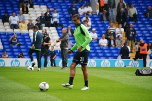 Nacer Chadli, a second half substitute. [Photo: Jav The_DoC_66]