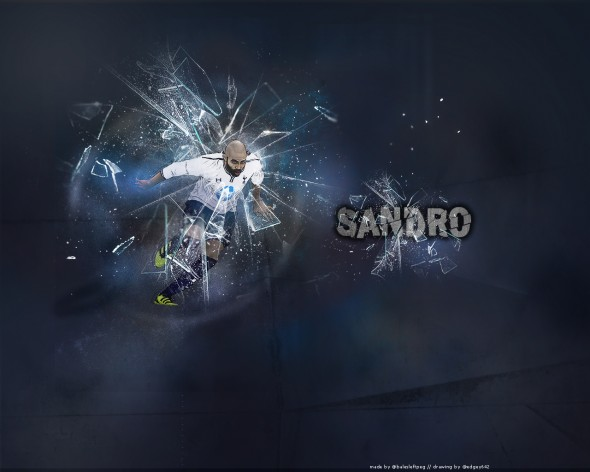 Sandro - another outstanding performance. [Photo: @Bale'sleftpeg @edgey642]