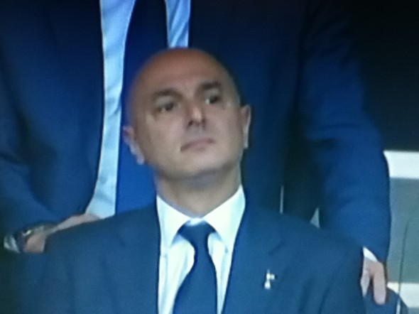 Praise for Daniel Levy [Photo: Alan Hill]