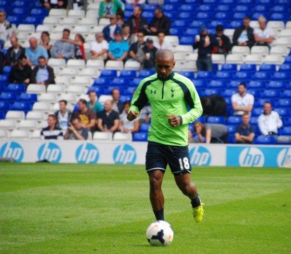 Another goal for Jermain Defoe - no. 21 in Europe. [Photo: Jav The_DoC_66]