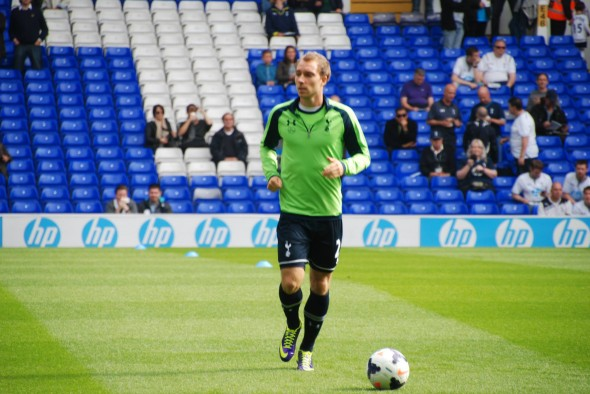 Christian Eriksen - restored to the team against Newcastle [Photo: Jav The DoC_66]