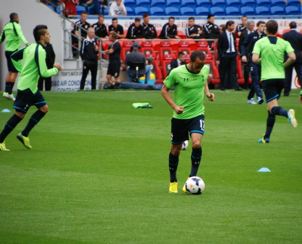 An exciting England debut for Andros Townsend [Photo: Jav The_DoC_66]