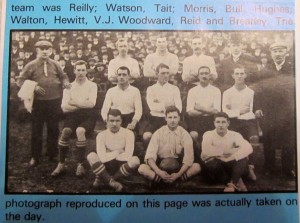 1907 Tottenham v Hull (2nd Replay) [Photo: Logan Holmes]