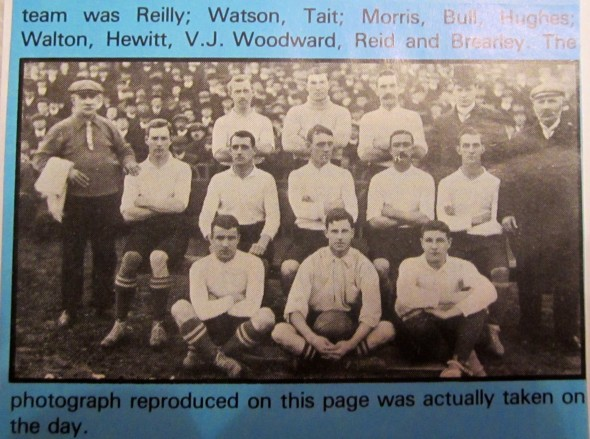 1907 Tottenham v Hull [Photo: Logan Holmes]