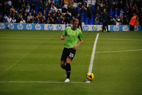 Michael Dawson scored his first Tottenham goal against Chelsea in 2006 [Photo: Jav The_DoC_66]