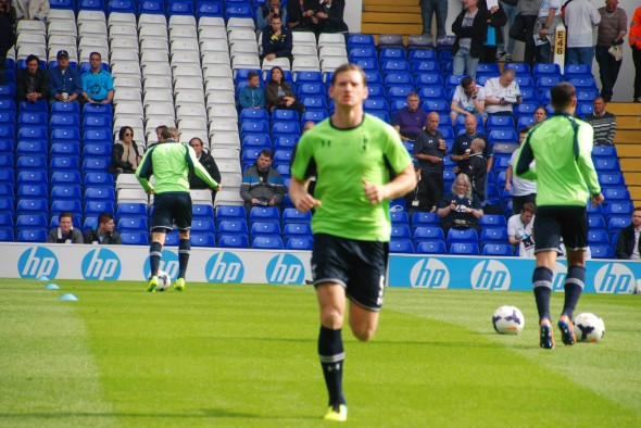 Jan Vertonghen played well at left back [Photo: Jav The_DoC_66]