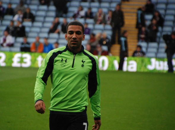 Aaron Lennon scored against Newcastle at WHL [Photo: Jav The_DoC_66]