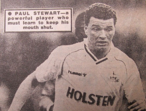 Paul Stewart played for both Blackpool, City and Spurs [Photo: Logan Holmes]