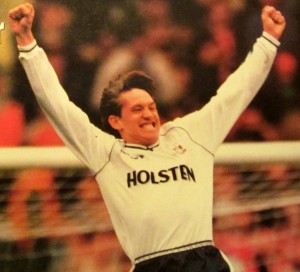 Gary Lineker - played for Spurs and Everton [Photo: Logan Holmes]