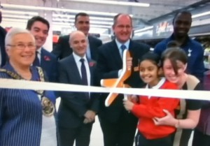 New Sainsbury's opens at WHL [Photo: Alan Hill]