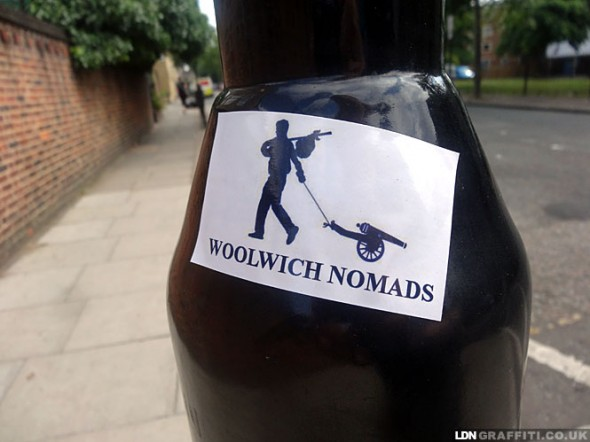 Woolwich Nomads [Picture: LDN Blog www.ldngraffiti.co.uk ]