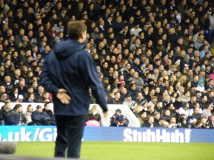 AVB's last game against Liverpool. [Photo: Alan Hill]