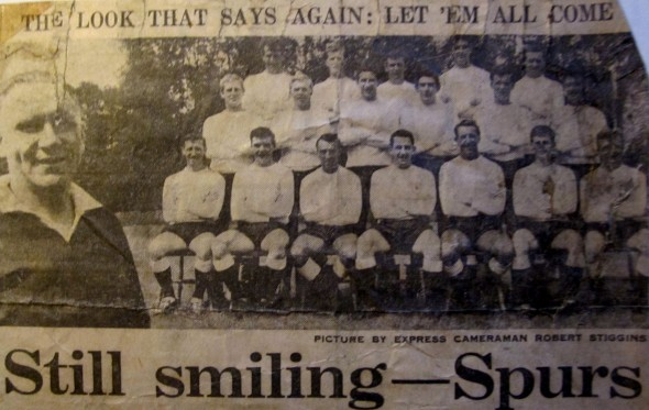 That Photograph - Spurs in the summer of 1964. [Photo: Logan Holmes]