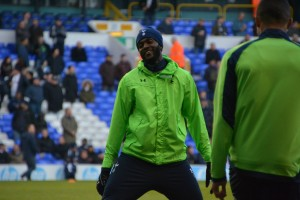 A happy Emmanuel Adebayor [Photo: Jav The_DoC_66]