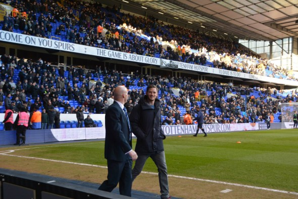 Jan Vertonghen at WHL on Saturday [Photo: Jav The_DoC_66]