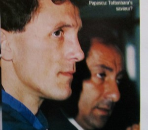 Popescu with Ardiles [Photo: Logan Holmes]