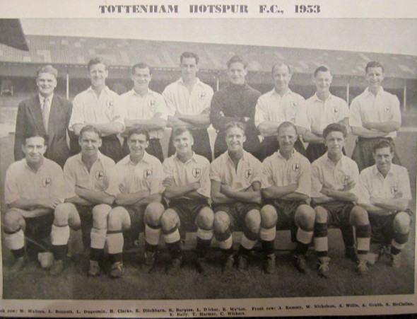 Tottenham in 1953 [Photo: Logan Holmes]