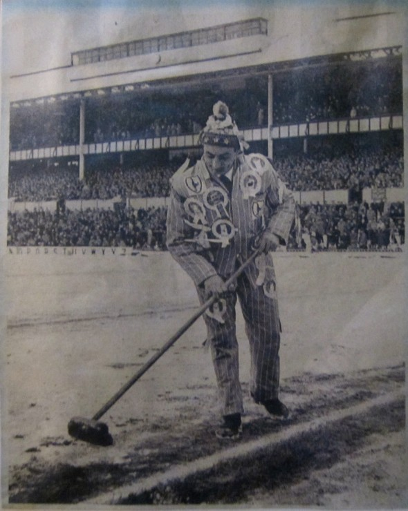 January 1963 - clearing snow from WHL [Photo: Logan Holmes]
