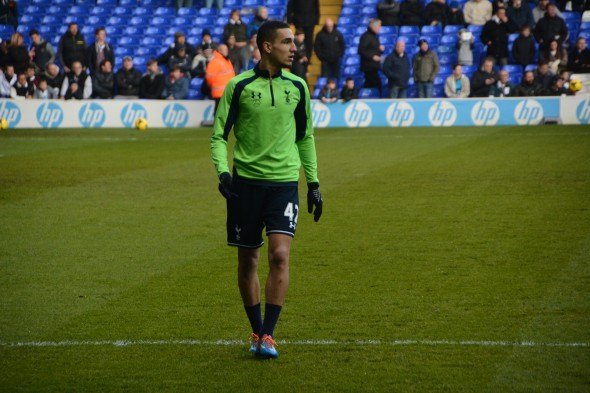 Nabil Bentaleb ahead of WBA game [Photo: Jav The_DoC_66]