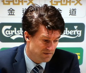 Michael Laudrup [Photo: Alan Hill]