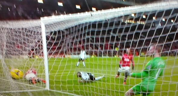 Darren Bent scores at OT [Photo: Alan Hill]