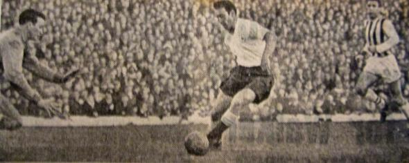 Jimmy Greaves scored the third. [Photo: Logan Holmes]