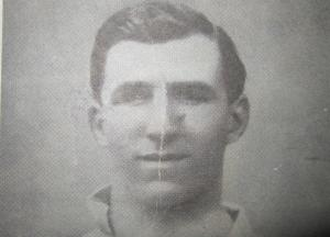 Tottenham captain, Arthur Grimsdell [Photo: Logan Holmes]