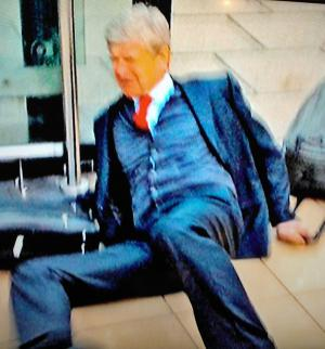 Downfall of Arsene Wenger [Photo: Alan Hill]