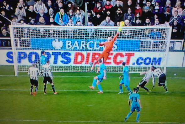 Hugo Lloris save [Photo: Logan Holmes]