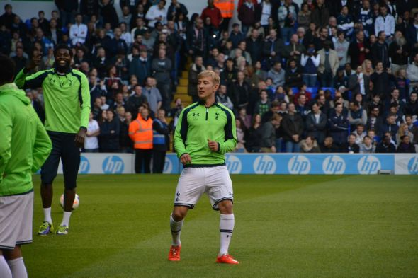 Tottenham news. Lewis Holtby [Photo: Jav The_DoC_66]