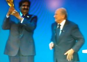 Sepp Blatter FIFA give WC to Qatar