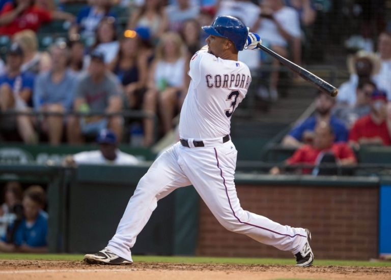 Carlos-corporan-mlb-oakland-athletics-texas-rangers-768x0