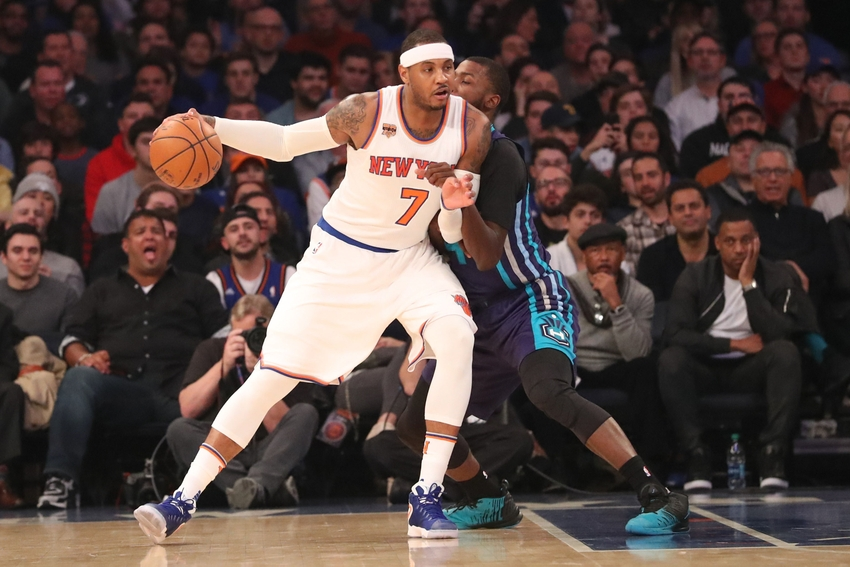 New York Knicks: Carmelo Anthony Discusses Game-Winning Shot