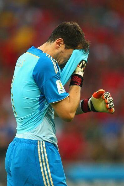 """In what is his last tournament for his country, """"Saint"""" Iker Casillas put on his worst two performances of his national team career."""