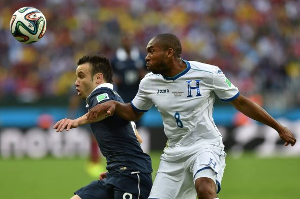 Mathieu Valbuena (left) was simply fantastic for France throughout
