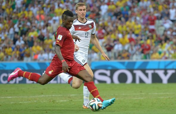 Asamoah Gyan calmly beat Manuel Neuer for Ghana's second...but it would not last forever