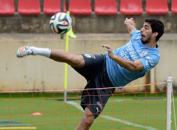 "Luiis Suarez is fit and deemed ready to lineup against England, claiming he is ""Feeling better and stronger than before"""