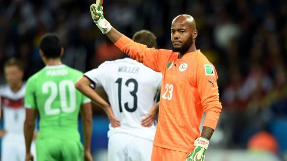 It was not to be for Rais M'Bolhi and Algeria - revenge for 1982 would have to wait a little longer