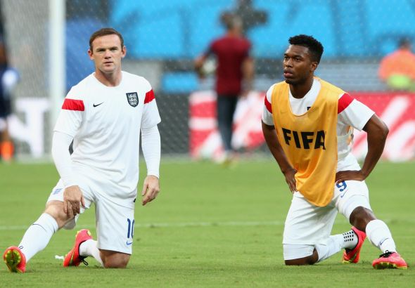 Wayne Rooney and Daniel Sturridge could run riot against the slow and aging back-line of Uruguay.