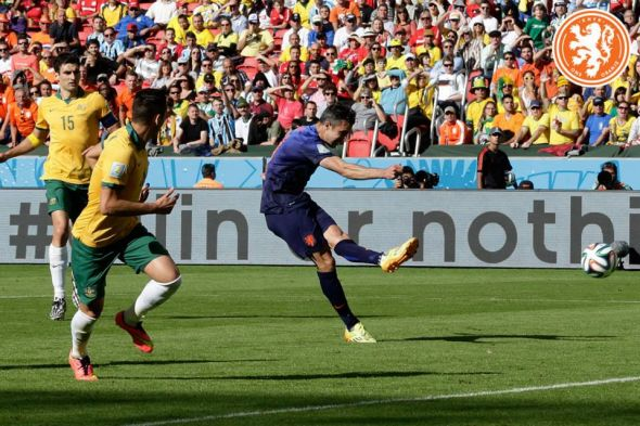 Robin van Persie leveled matters at 2-2 for the Netherlands, and they would not look back from there.