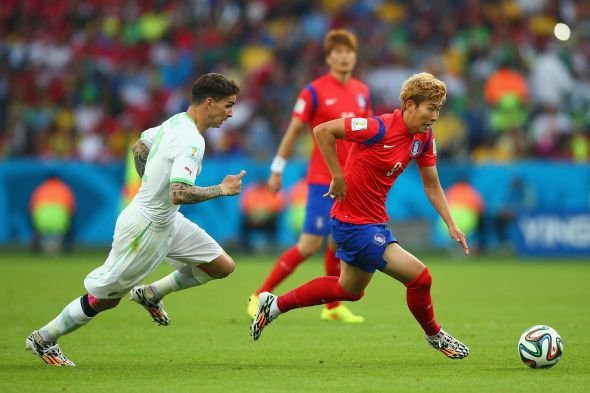 South Korea's Heung-min (on the ball) has the ability to be influential, but will he?