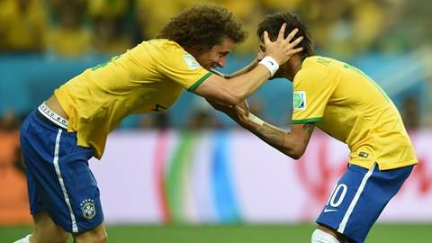 Will David Luiz, Neymar and company be celebrating in first place after 90 minutes?