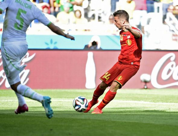 Dries Mertens came off the bench for the woeful Nacer Chadli, and was sensational. Surely his performance warrants his selection against Russia.