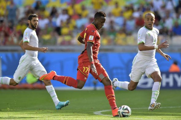 Does the pace and direct nature of Divock Origi (center) mean he starts ahead of Romelu Lukaku?