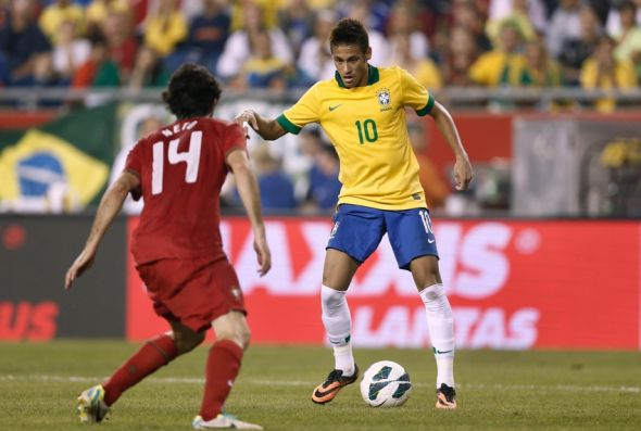 The eyes of the world will be on Brazilian wunderkind Neymar. Will he inspire the Selecao tonight? Mandatory Credit: Winslow Townson-USA TODAY Sports