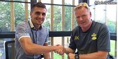 Tadić and Ronald Koeman